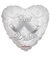 """18"""" Best Wishes Bells Balloon"""