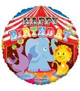 "18"" Birthday Circus Balloon"