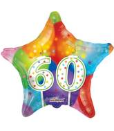 "18"" 60th Candles Balloon"