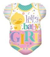 """18"""" Baby Clothes Girl Shape Balloon"""