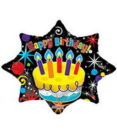 """28"""" Party Explosion Shape balloons"""