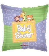 """18"""" Baby Shower Animals Balloon"""