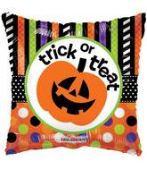 "18"" Trick Or Treat Pumpkin Balloon"