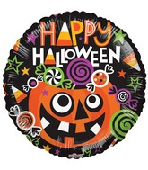 "18"" Balloon Happy Halloween Candies"