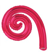 "14"" Airfill Only Kurly Spiral Flamingo Balloon"