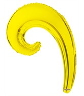 "14"" Aifill Only Airfill Only Kurly Wave Yellow"
