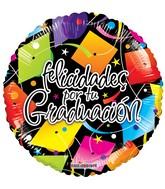 """9"""" Airfill Only Felicidades Birretes Gellibean Balloon"""