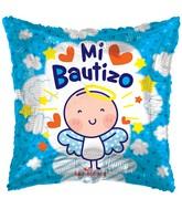 """18"""" Angelito Azul Bautizo Balloon"""