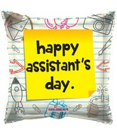 "18"" Assistant's Day Notes Balloon"