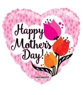 "18"" Happy Mother's Day Tulips Gellibean Balloon"