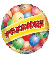 """18"""" Feliz Cumpleaños  Balloons Balloon"""