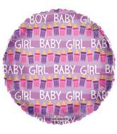 "18"" Baby Bottles Girl Balloon"