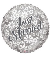 "18"" Just Married Balloon"
