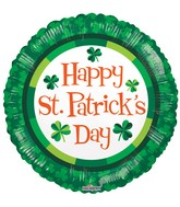 "18"" St Patrick's Green Balloon"