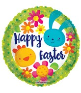 "18"" Happy Easter Balloon"