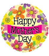 """18"""" Happy Mother's Day Banner Balloon"""