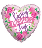 "18"" Happy Mother's Day Roses & Banner Balloon"
