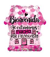 "18"" Bienvenida Casa Shape Balloon"