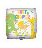 """18"""" Baby Shower Animals"""
