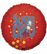 "18"" Supa Dad Balloon"