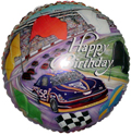 "18"" Happy Birthday Car Balloon"