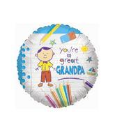 "18"" You're A Great Grandpa Balloon"