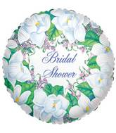 "9"" Airfill Only Magnolia Bridal Shower Balloon"