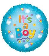 """9"""" Its A Boy Baby Bottle"""