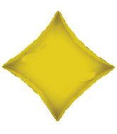 "21"" Solid Diamond Gold Brand Convergram Balloon"
