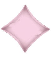 "21"" Solid Diamond Light Pink Brand Convergram Balloon"