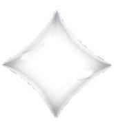 "21"" Solid Diamond White Brand Convergram Balloon"