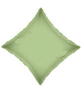 "21"" Solid Diamond Olive Green Brand Convergram Balloon"