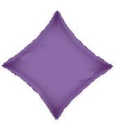 "21"" Solid Diamond Violet Brand Convergram Balloon"