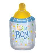 "36"" Baby Bottle Boy Shape Balloon"