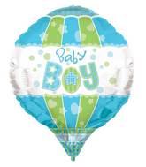 "28"" Baby Boy Aerostatic 3D Balloon"