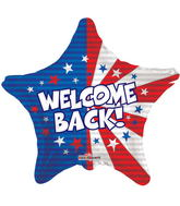 "18"" Welcome Back Patriotic"