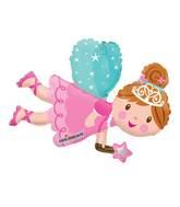 """14"""" Airfill Only Fairy Mini Shape Balloon"""