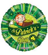 "18"" St. Patrick's Day Scene Balloon"