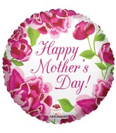 """36"""" Happy Mother's Day Classic Roses Balloon"""