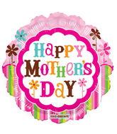 "18"" Happy Mother's Day Pink Flower Gellibean"