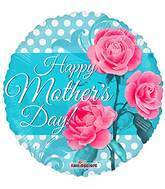 """18"""" Happy Mother's Day 3 Roses Balloon"""