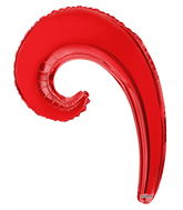 "14"" Airfill Only Kurly Wave Red"