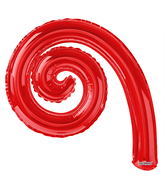 "14"" Airfill Only Kurly Spiral Red"
