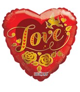 "9"" Cupid Gold Love"
