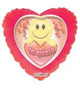 "4"" Te Quiero Smiley"