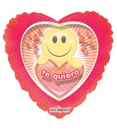 """9"""" Airfill Only Te Quiero Smiley"""