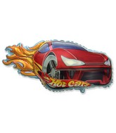 "31"" Hot Car Balloon Red"