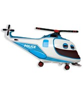"38"" Police Helicopter Balloon"
