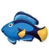 Jumbo Blue Fish Balloon