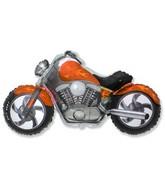 "45"" Motorcycle Orange Balloon"